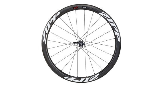 Zipp 303 Firecrest Disc Carbon Clincher VR 24 Loch black/white stickers